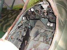 The cockpit of the Linköping's CR 42 ooks very complete with all instruments. Description from ipmsstockholm.se. I searched for this on bing.com/images