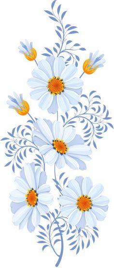 By Artist Unknown🇺🇸. One Stroke Painting, Tole Painting, Fabric Painting, Painting & Drawing, Art Tutorials, Diy Art, Flower Designs, Flower Art, Decoupage