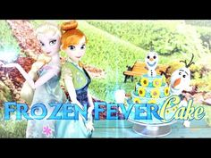 How to Make a Frozen Fever Cake - YouTube