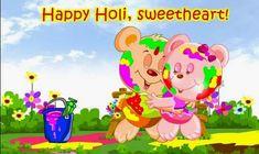 Romantic Holi Wishes