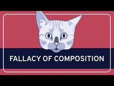 In this video, Paul Henne (Duke University) describes the fallacy of composition, an informal fallacy that arises when we assume that some whole has the same. Logical Fallacies, Conversation Topics, Duke University, Critical Thinking, Composition, Challenges, Make It Yourself, Youtube, Musical Composition