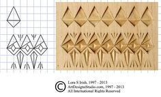 In today's free online Chip Carving Seminar by Lora Irish, we look at the wood carving cuts used to create straight-wall, curve-edge, and free form chips in your chip carving patterns. Chip Carving...