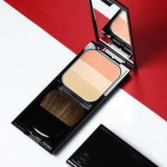 Face Color Enhancing Trio Il finish perfetto e di lunga durata Shiseido! #makeup #cosmetics