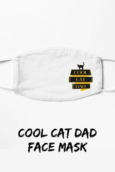 Cool Cat Dad design for every cat parent! designed especially for cat dads in mind, a cool and unique design for cat parents. #catdadmask #coolcatdad #fathersdaygift #facemask #catdadgift #catloverfacemask #catdadfacemask Cat Dad, Cool Cats, Tshirt Colors, V Neck T Shirt, Cat Lovers, Dads, Parents, Unique, Design