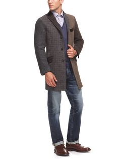 ETRO  Patchwork Wool Coat. awesome