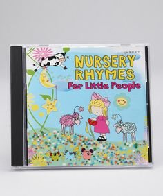 Take a look at this Kimbo Nursery Rhymes for Little People CD by Kimbo Educational on #zulily today!
