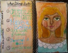 MessyJessyCreatesArt: Book of Days Week 7 with Effy Wild