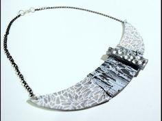 ▶ Collar texturas - Texture necklace - YouTube