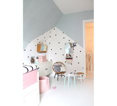 Candy Sweet Girls Room - as featured on La Tazzina Blu