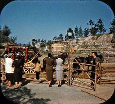 *m. 1956 Frontierland View. Disneyland