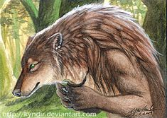 ACEO- Myenia by Kyndir on DeviantArt