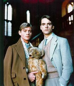 Charles and Sebastian (Jeremy Irons and Anthony Andrews) from Brideshead Revisted 1981