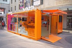 Container Office, Container Architecture, Pop Up, Construction, Interior Design, Building, Toilet, Retail, Camping