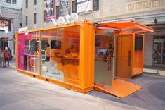 Container Office, Container Architecture, Pop Up, Toilet, Loft, Construction, Interior Design, Building, Retail