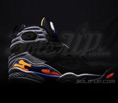 pretty nice c11d3 190e9 Air Jordan VIII Phoenix Suns (Summer 2013)-Preview Popular Sneakers,  Popular Shoes