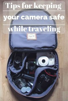 The best tips for keeping your camera safe while traveling #photography #camera #travel