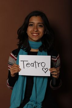 Theater, Talina García, Estudiante, UANL, Monterrey, México