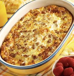 Weekend Brunch Casserole- this is good! I used 6 egg and 1 cup milk. Made more than enough for 5ppl.