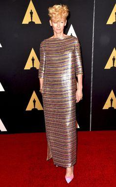 Tilda Swinton from 2014 Governors Awards   E! Online