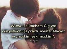 Lovsy.pl - Strona pełna uczuć! Inspirujące teksty, cytaty, myśli o miłości, przyjaźni, szcześciu, samotności... Couple Goals, Couples, Quotes, Couple