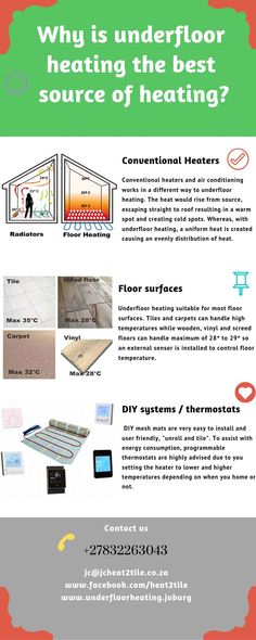 Why is Under Floor Heating the best form of heating ? Heating And Cooling, Hydronic Radiant Floor Heating, House Extension Plans, G Floor, Ceiling Detail, Prayer Room, Radiant Heat, Earthship, Modern Houses