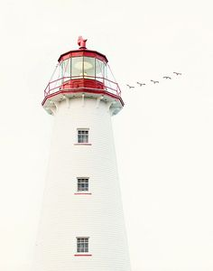 Point Prim Lighthouse in PEI, Canada.