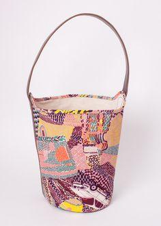 Bucket Bag - Tamboro // Wine