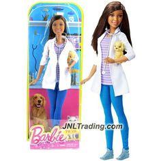Mattel Year 2015 Barbie Career Series 12 Inch Doll - NIKKI as PET VET (DHB19)…