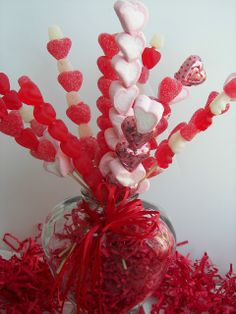 Candy Bouquet. Full tutorial. Love this!