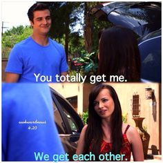 "#Awkward 4x20 ""Sprang Break (Part 1)"" - Matty and Jenna"