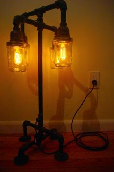1000bulbs.com.....antique light bulbs. & DIY floor lamp.