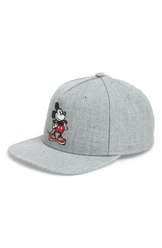 'Vans x Disney® - Mickey Mouse®' Snapback Cap available at #Nordstrom