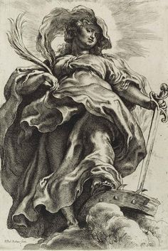Unknown Engraving by Peter Paul Rubens.