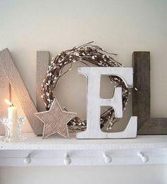 34 Ideas for diy decoracion nordica deco Funky Home Decor, Diy Home Decor, Rustic Christmas, Christmas Time, Diy Wedding Decorations, Christmas Decorations, Diy Soap Holder, Diy Clothes Alterations, Diy Projects For Men