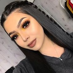 U-Part Lace Front Wigs Brazilian Human Hair straight Long Wigs Prom Makeup Looks, Cute Makeup, Gorgeous Makeup, Party Makeup, Awesome Makeup, Cheap Makeup, Glam Makeup, Makeup Geek, Wedding Makeup