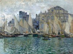 1873 Claude Monet Le Havre Museum(NG Londra)(75 x 100 cm) | Flickr - Photo Sharing!)