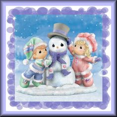 Precious Moments snowman