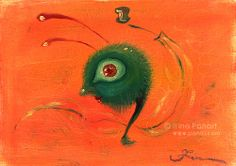 Dance of the grasshopper. #artwork #illustration #oiloncanvas