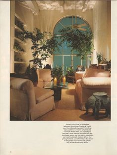 Architectural Digest, September 1984