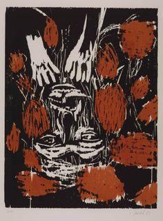 Baselitz, From the Front (Von Vorne), 1985