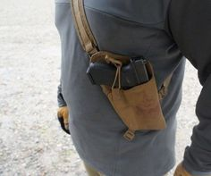 FirstSpear - The Walt Torso Holster Kydex Holster, Leather Holster, Weapons Guns, Guns And Ammo, Tac Gear, Chest Rig, Shooting Guns, Cool Gear, Concealed Carry