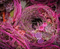 Petra, Grapevine Wreath, Grape Vines, Floral Wreath, Wreaths, Flowers, Trendy, Montages, Home Decor