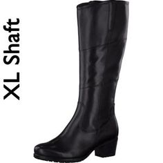 Tamaris-Stiefel-BLACK-Art.:1-1-25542-25/001