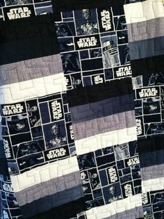 star wars quilt idea
