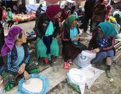 Ethnic minority market in Ha Giang Province