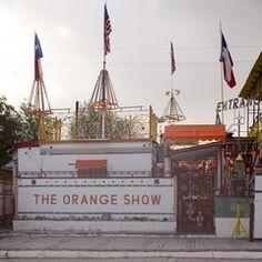 The Orange Show,  Houston Tx