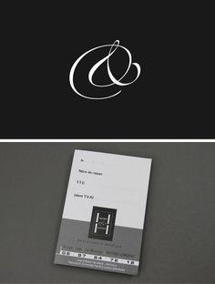 Cartes De Visite Du Restaurant Henri Joseph Lorient LCdesign Carte