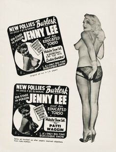 1950sunlimited: Jenny Lee 1950s