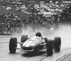 Pohlednice z historie: 1966 Brabham vyhrál s Brabhamem - SvětFormule. F1 S, Dan Gurney, Classic Race Cars, Formula 1 Car, Speed Racer, Vintage Race Car, Indy Cars, F1 Racing, Rally Car