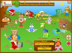 Visita El Bosque de las Actividades - Educ. Infantil | #Aplicación #Edtech